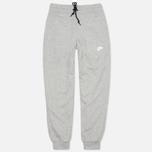 Мужские брюки Nike AW77 FT Cuff Grey/White фото- 0