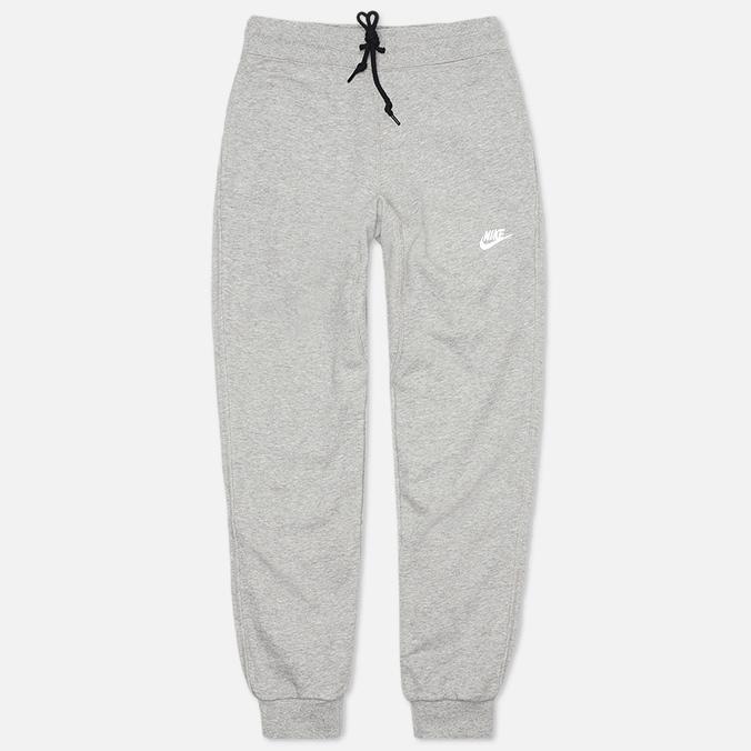 Мужские брюки Nike AW77 FT Cuff Grey/White