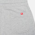 Мужские брюки Nike AW77 FT Cuff Grey/White фото- 2