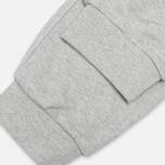 Мужские брюки Nike AW77 FT Cuff Grey/White фото- 4