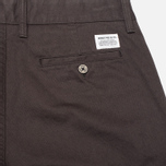 Мужские брюки Norse Projects Aros Heavy Chino Charcoal фото- 1