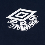 Мужские брюки Umbro Pro Training Classic Drill Navy фото- 4