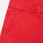 Мужские брюки Velour Adan Chino Bottle Faded Red фото- 3