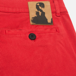 Мужские брюки Velour Adan Chino Bottle Faded Red фото- 1