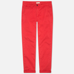 Мужские брюки Velour Adan Chino Bottle Faded Red фото- 0