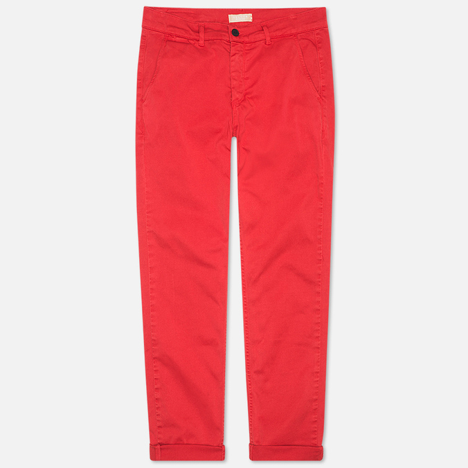 Мужские брюки Velour Adan Chino Bottle Faded Red