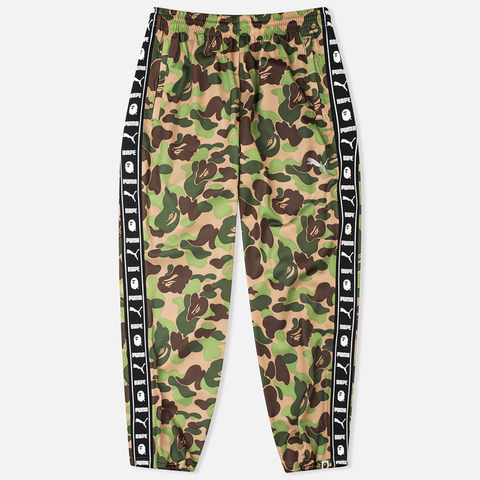 Брюки Puma x Bape Training Camo Green