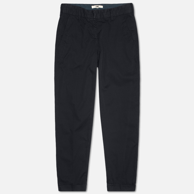 Женские брюки YMC Lightweight Herringbone Twill Chino Navy
