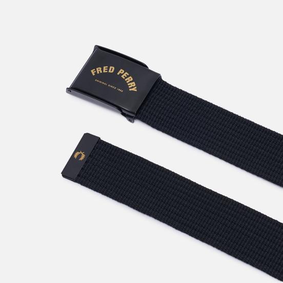 Ремень Fred Perry Arch Branded Black