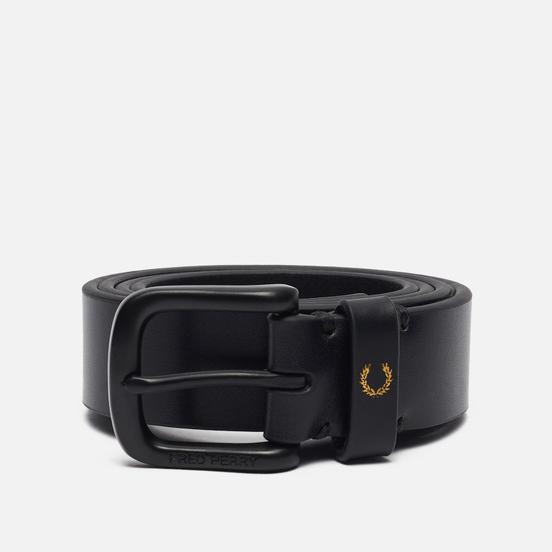 Ремень Fred Perry Classic Leather Black