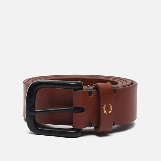 Ремень Fred Perry Classic Leather Tan