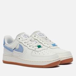 Женские кроссовки Nike Air Force 1 '07 LXX Sail/Mystic Green/Light Blue/White