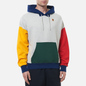 Мужская толстовка Nike Court Fleece Hoodie Grey Heather/Gorge Green фото - 2