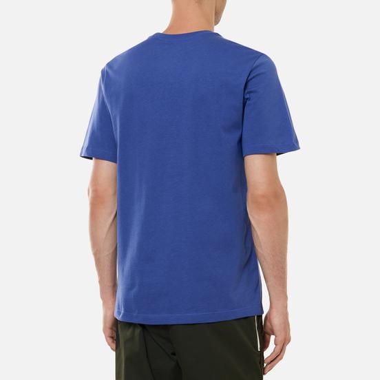 Мужская футболка Nike Court Embroidered Dark Purple Dust/White