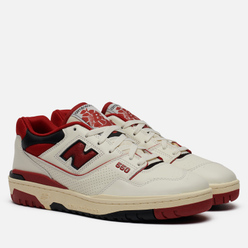 Мужские кроссовки New Balance x Aime Leon Dore P550 Basketball Oxfords White/Red