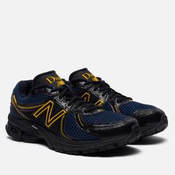 Мужские кроссовки New Balance x Dime 860v2 Black/Navy/Yellow