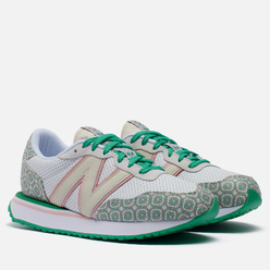 Мужские кроссовки New Balance x Casablanca 237 Munsell White/Green