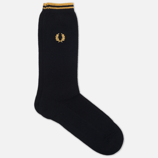 Носки Fred Perry Tipped Black/Champagne