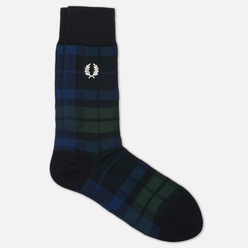 Носки Fred Perry Black Watch Tartan Tartan Green