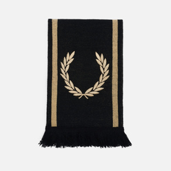 Шарф Fred Perry Branded Black/Champagne