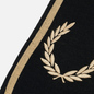 Шарф Fred Perry Branded Black/Champagne фото - 1