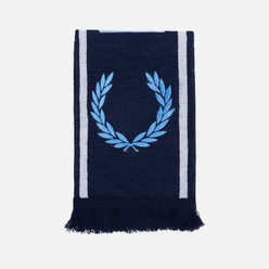 Шарф Fred Perry Branded Navy/Sky Blue/Snow White