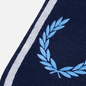Шарф Fred Perry Branded Navy/Sky Blue/Snow White фото - 1