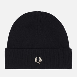 Шапка Fred Perry Knitted Merino Wool Black