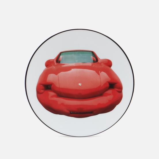 Тарелка Ligne Blanche Erwin Wurm Fat Convetible/Red Porsche Medium