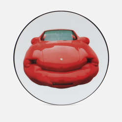 Тарелка Ligne Blanche Erwin Wurm Fat Convetible/Red Porsche Large