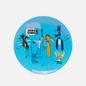 Тарелка Ligne Blanche Jean-Michel Basquiat Keep Frozen Blue Medium фото - 0