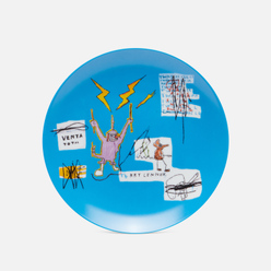 Тарелка Ligne Blanche Jean-Michel Basquiat Venta Blue Medium