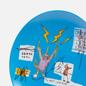 Тарелка Ligne Blanche Jean-Michel Basquiat Venta Blue Medium фото - 2