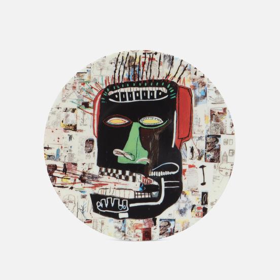 Тарелка Ligne Blanche Jean-Michel Basquiat Glenn White Medium