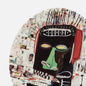 Тарелка Ligne Blanche Jean-Michel Basquiat Glenn White Medium фото - 2