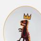 Тарелка Ligne Blanche Jean-Michel Basquiat Dragon White Medium фото - 2