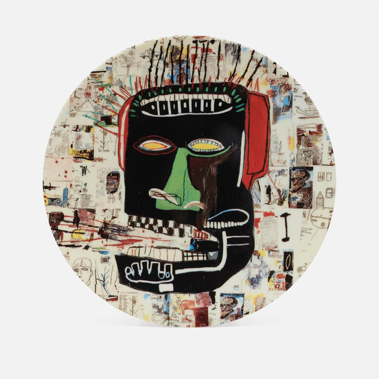 Тарелка Ligne Blanche Jean-Michel Basquiat Glenn White Large