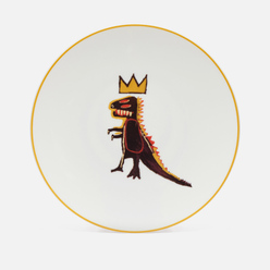 Тарелка Ligne Blanche Jean-Michel Basquiat Dragon White Large