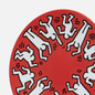 Тарелка Ligne Blanche Keith Haring White On Red Medium фото - 2