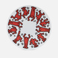 Тарелка Ligne Blanche Keith Haring Red On White Large фото - 0