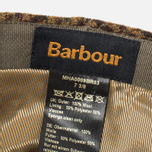 Мужская кепка Barbour Crieff Dark Brown Club Check фото- 4