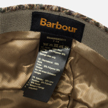 Кепка Barbour Crieff Cap Sage/Olive Check photo- 4