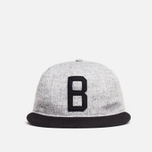 Мужская кепка Ebbets Field Flannels x Brandshop Ball Cap Black/Grey фото- 0