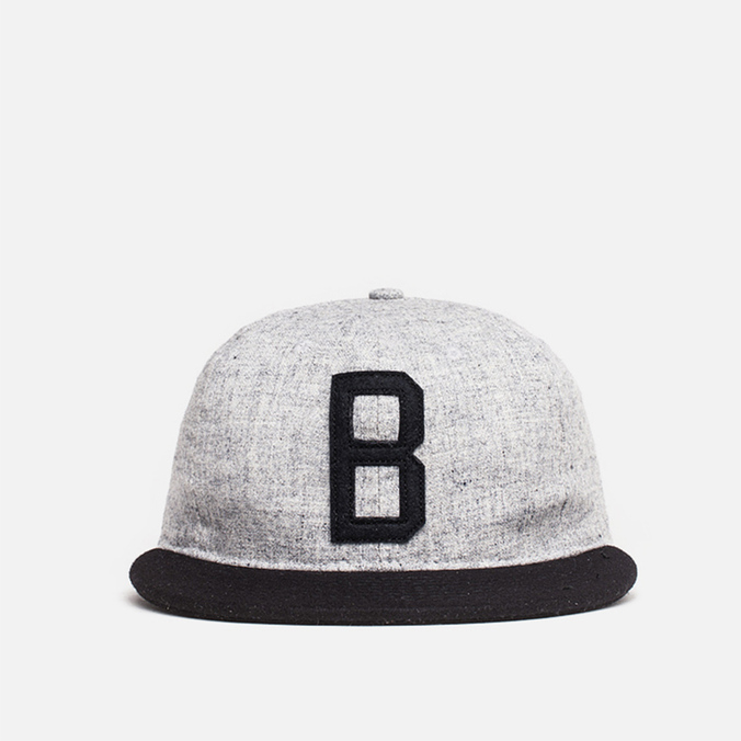 Мужская кепка Ebbets Field Flannels x Brandshop Ball Cap Black/Grey