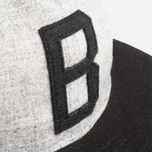 Мужская кепка Ebbets Field Flannels x Brandshop Ball Cap Black/Grey фото- 3