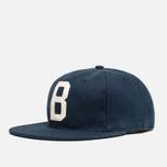 Мужская кепка Ebbets Field Flannels x Brandshop Ball Cap Navy фото- 1
