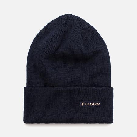 Шапка Filson Wool Cuff Navy