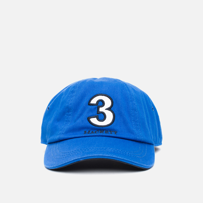 Мужская кепка Hackett Numbers Baseball Blue