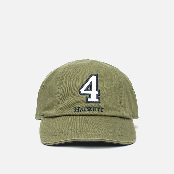 Мужская кепка Hackett Numbers Baseball Bottle Green