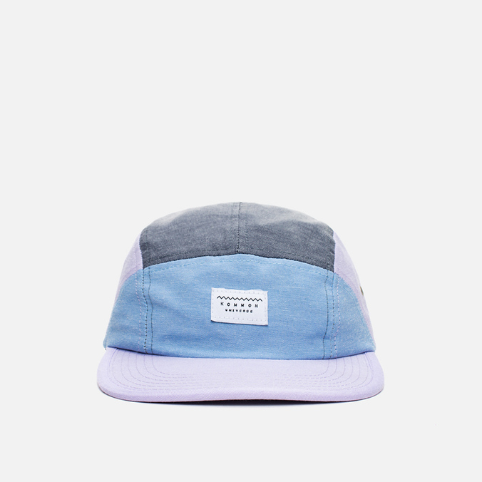 Кепка Kommon Universe Galactic 5 Panel Blue/Lilac/Grey
